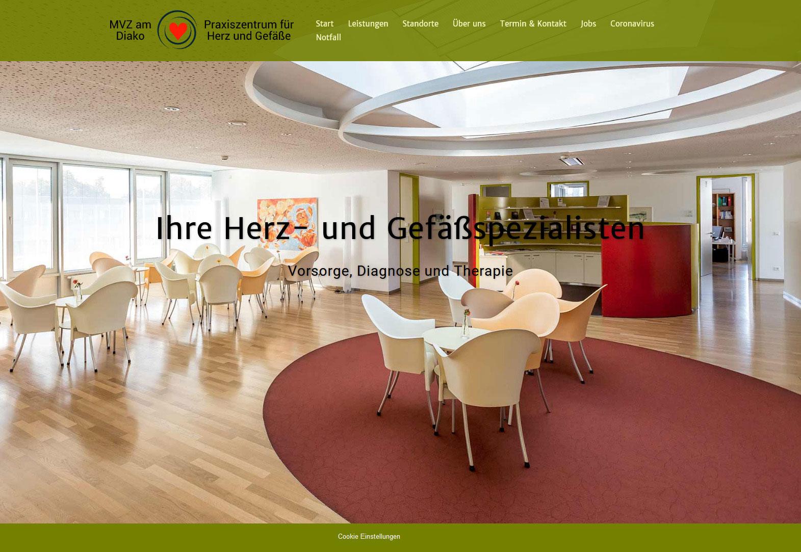 Webseiten Beispiel